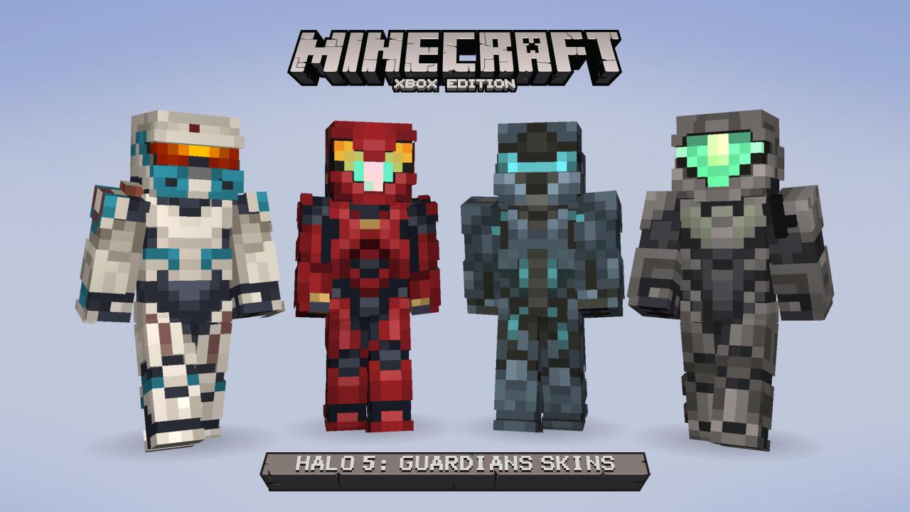 V Minecraftu začíná válka mezi Master Chiefem a Spartanem Lockem 115176