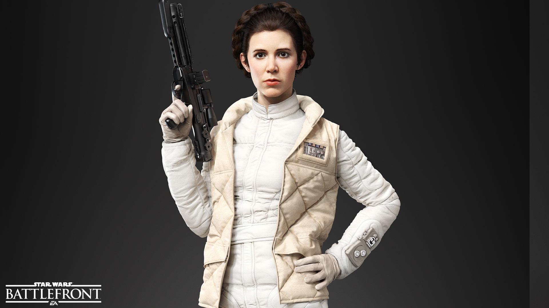 Ve Star Wars: Battlefront se opravdu objeví Han Solo, Leia Organa a císař Palpatine 115256
