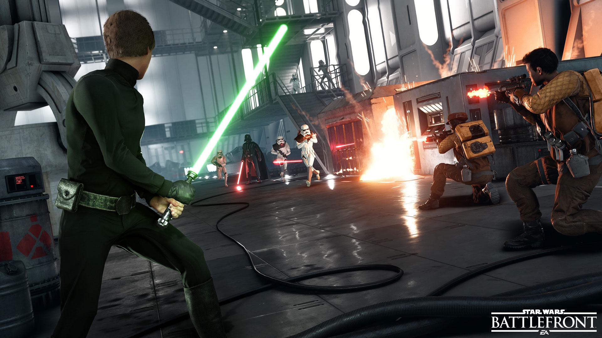 Ve Star Wars: Battlefront se opravdu objeví Han Solo, Leia Organa a císař Palpatine 115259