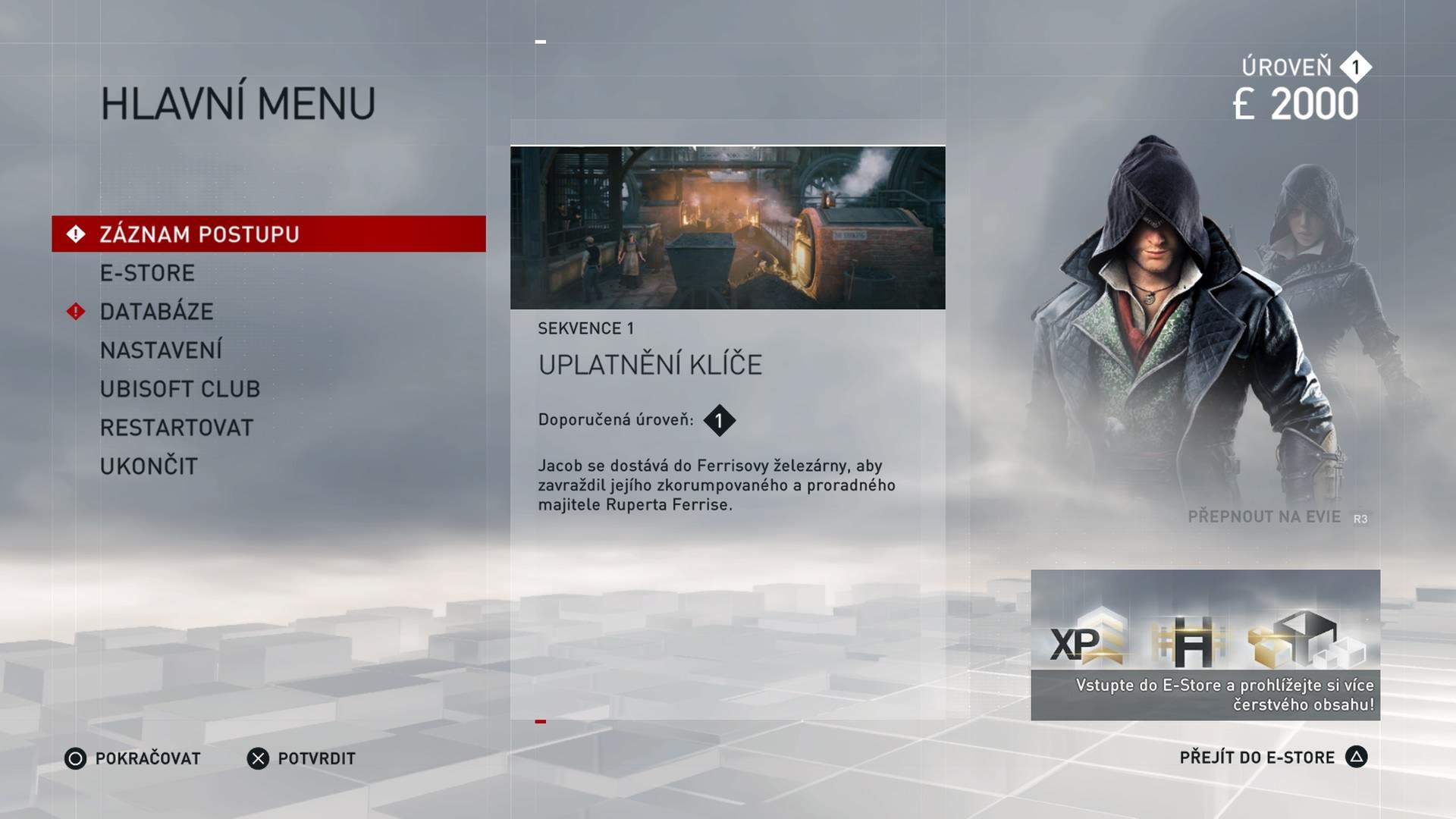 Čeština v Assassin's Creed: Syndicate je kompletní 115338