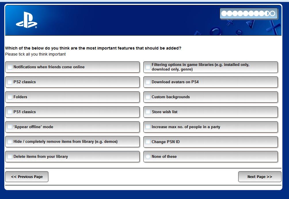 Sony se ptá, co vám chybí u PlayStationu 4 115407