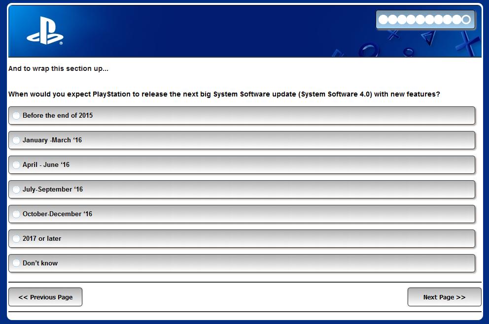 Sony se ptá, co vám chybí u PlayStationu 4 115408