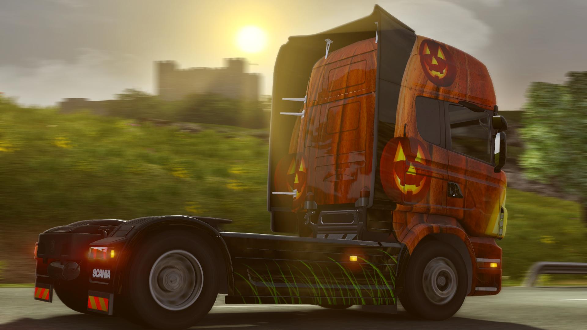 Euro Truck Simulator 2 nezapomněl na Halloween 115416