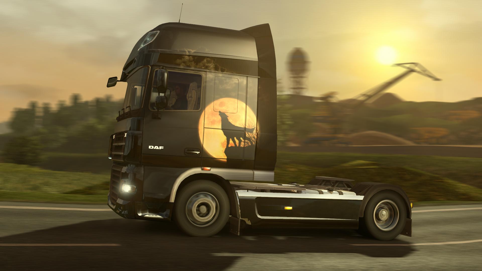 Euro Truck Simulator 2 nezapomněl na Halloween 115417