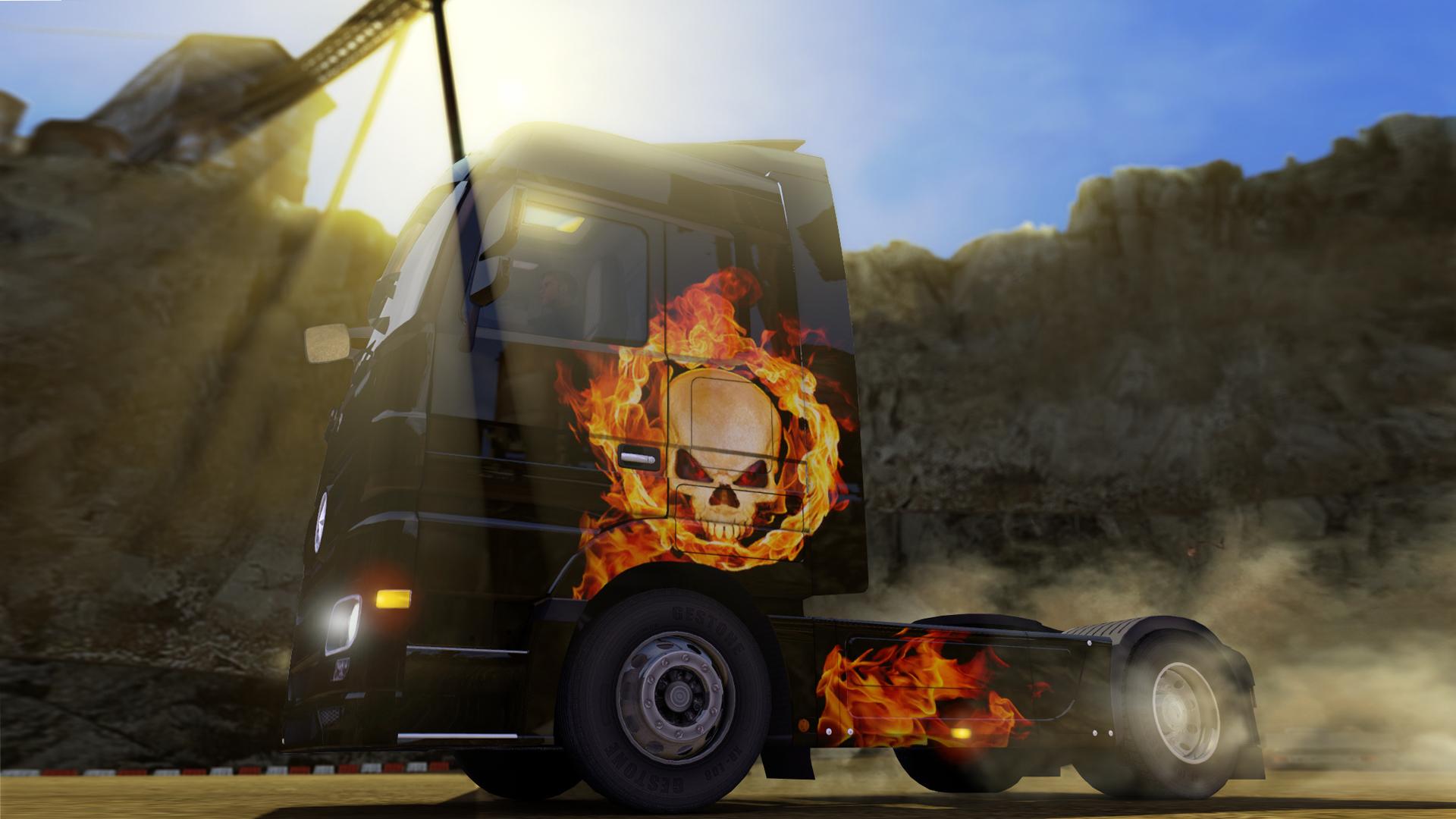 Euro Truck Simulator 2 nezapomněl na Halloween 115418