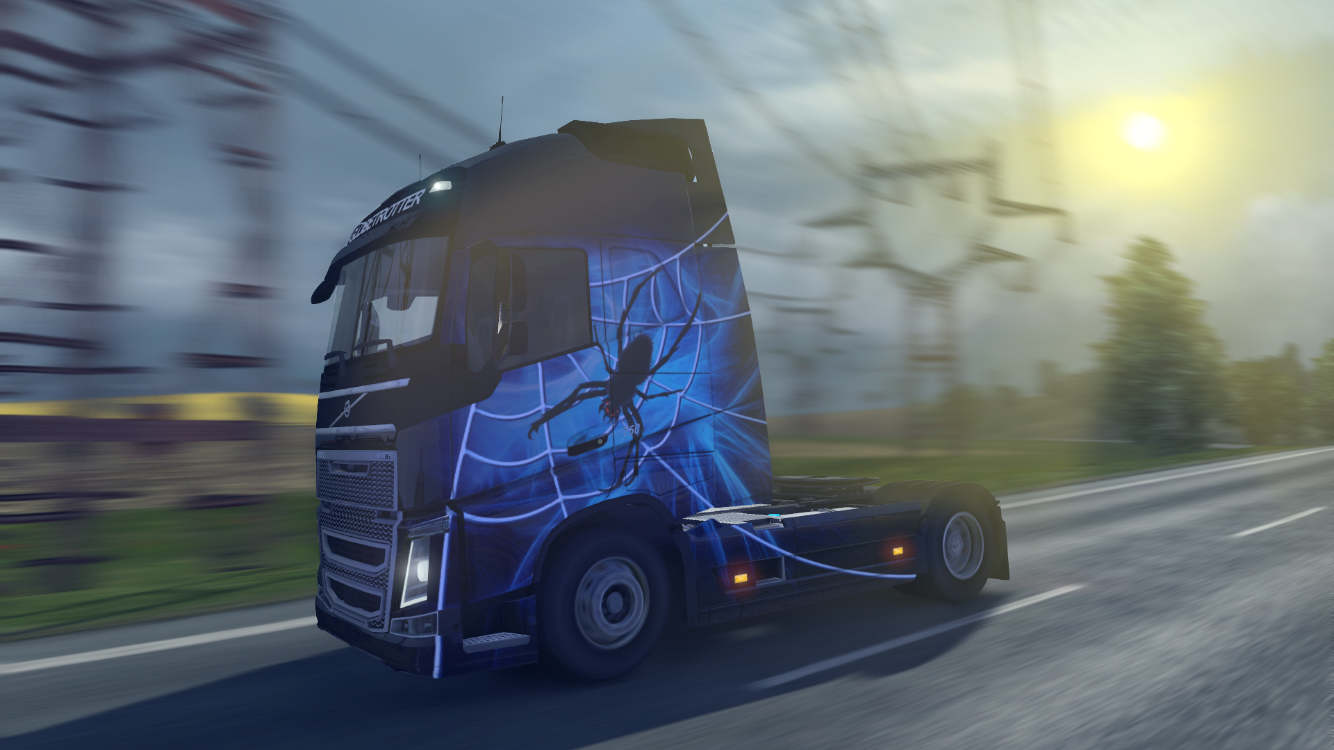 Euro Truck Simulator 2 nezapomněl na Halloween 115419