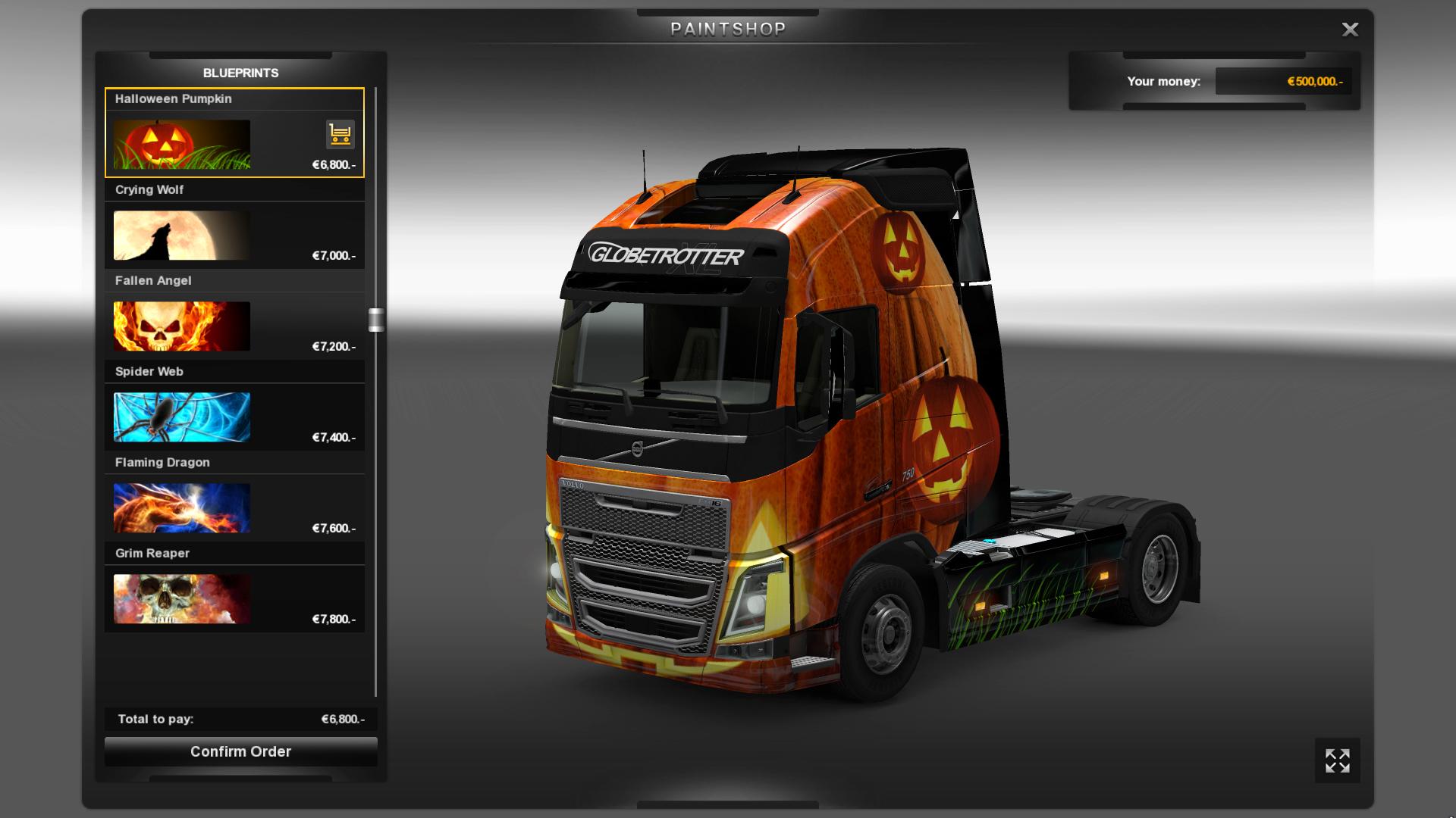 Euro Truck Simulator 2 nezapomněl na Halloween 115422