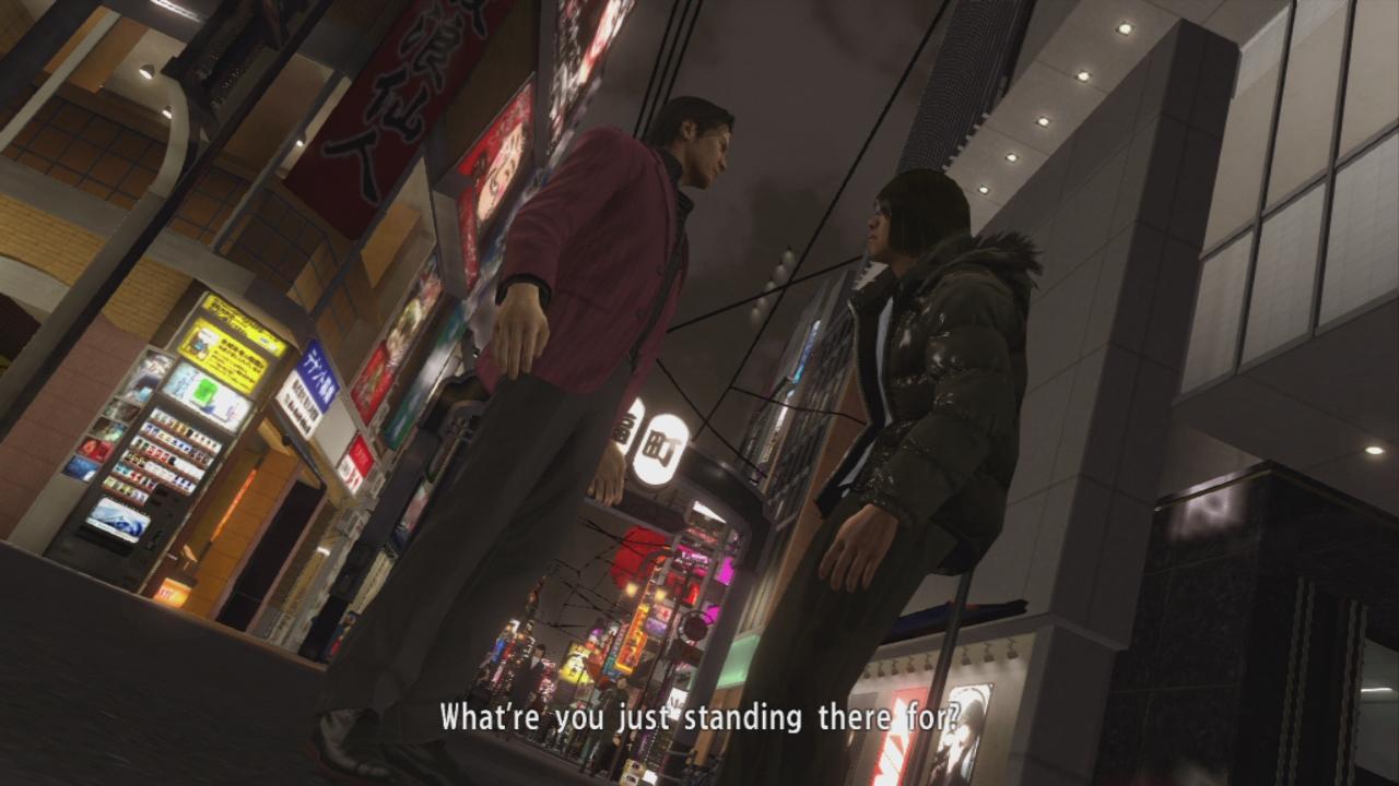 Sega představuje postavy páté Yakuzy 115443