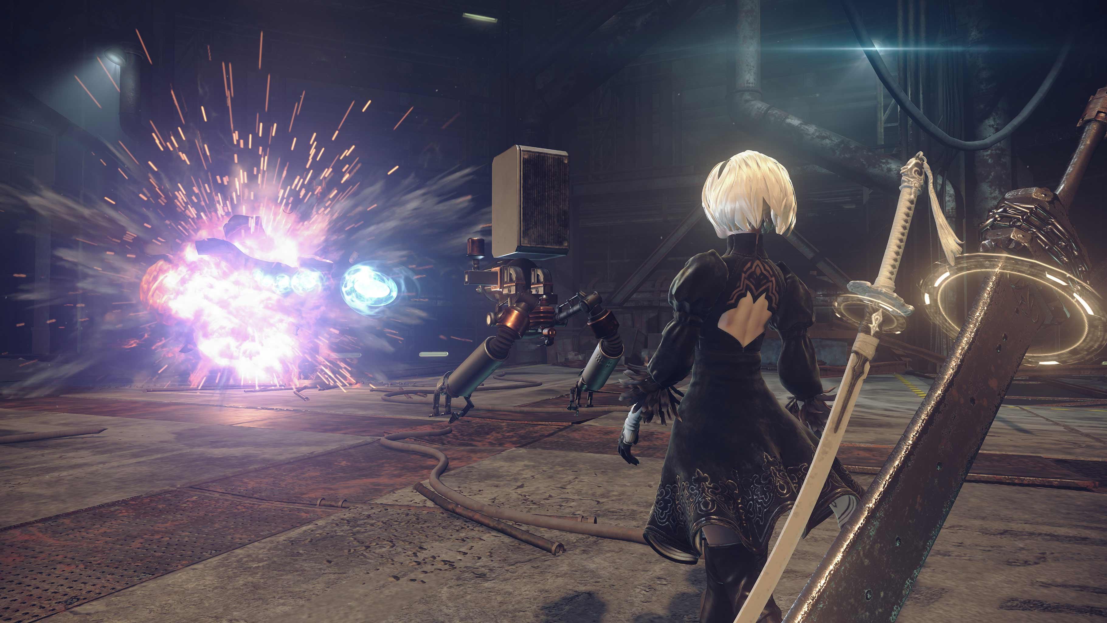 NieR: Automata v prvním gameplay traileru a screenshoty 115657