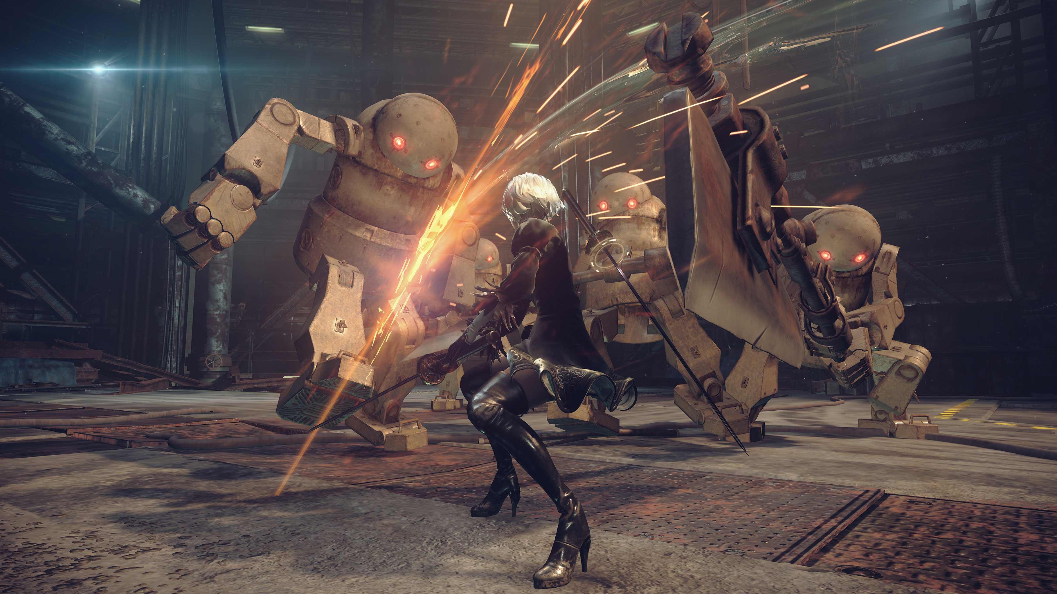 NieR: Automata v prvním gameplay traileru a screenshoty 115660