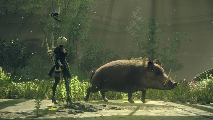 NieR: Automata v prvním gameplay traileru a screenshoty 115663
