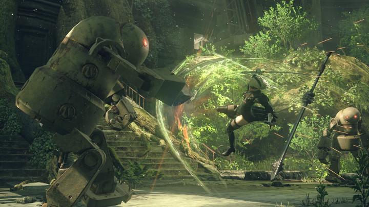 NieR: Automata v prvním gameplay traileru a screenshoty 115664