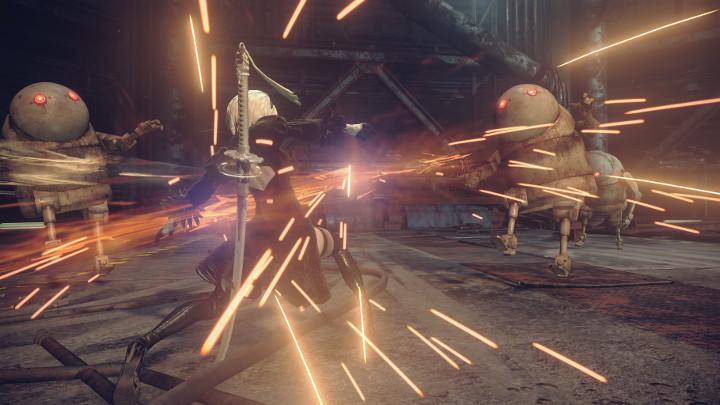 NieR: Automata v prvním gameplay traileru a screenshoty 115665