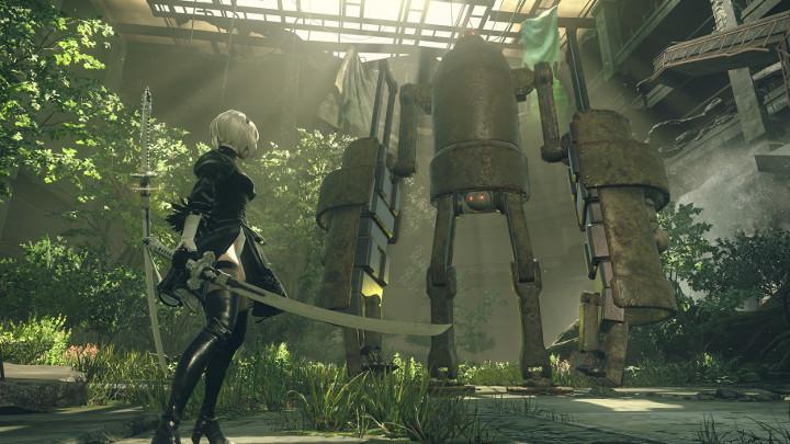 NieR: Automata v prvním gameplay traileru a screenshoty 115666