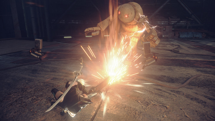 NieR: Automata v prvním gameplay traileru a screenshoty 115667