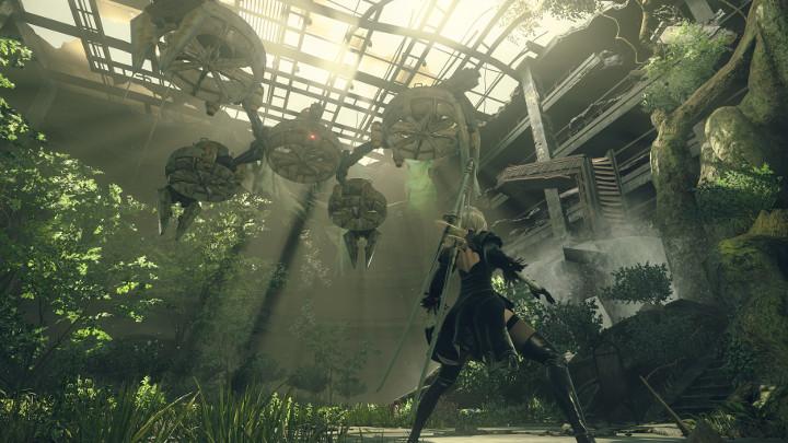 NieR: Automata v prvním gameplay traileru a screenshoty 115669
