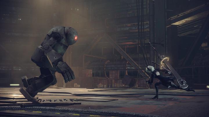 NieR: Automata v prvním gameplay traileru a screenshoty 115670
