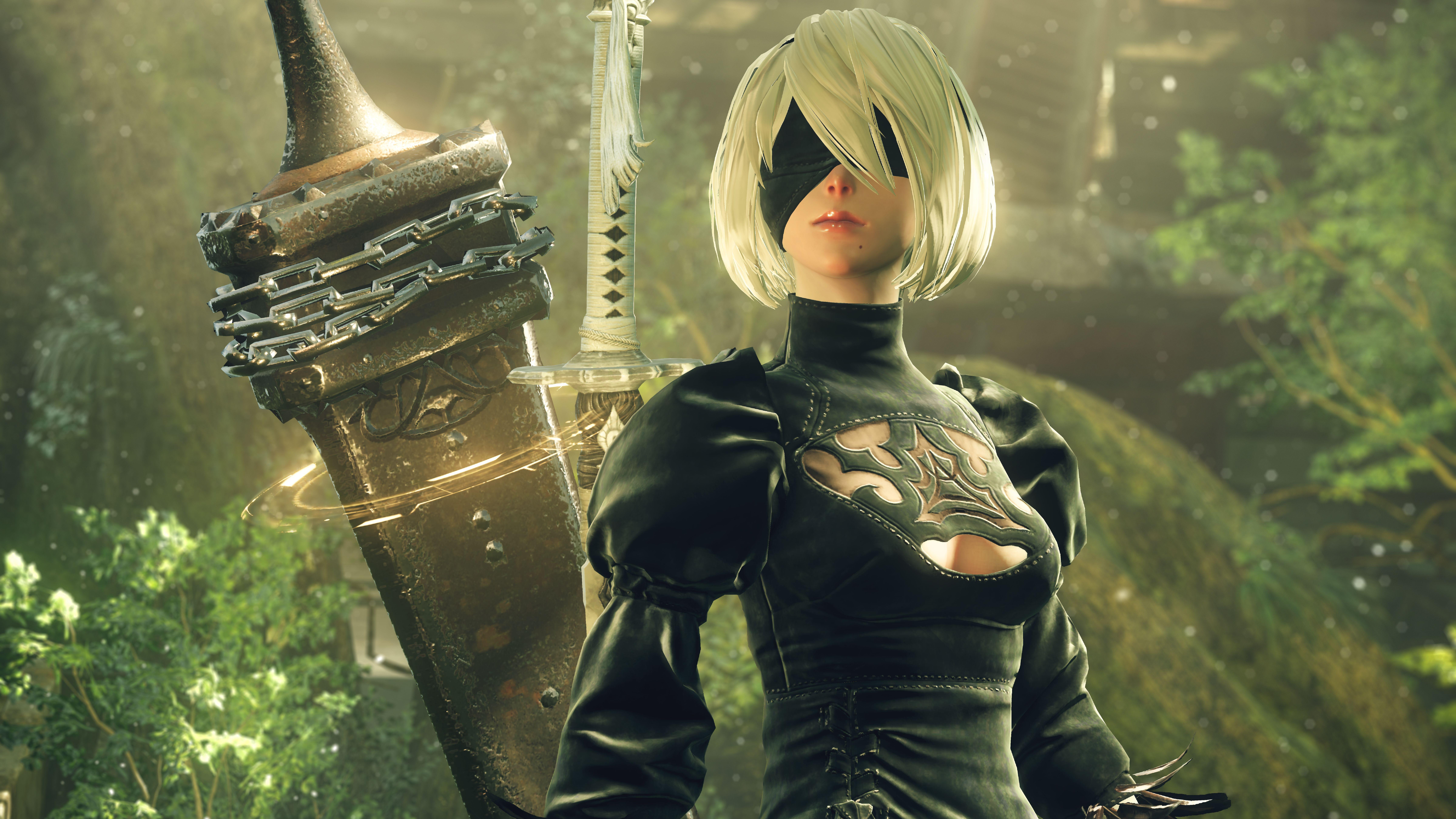 NieR: Automata v prvním gameplay traileru a screenshoty 115674