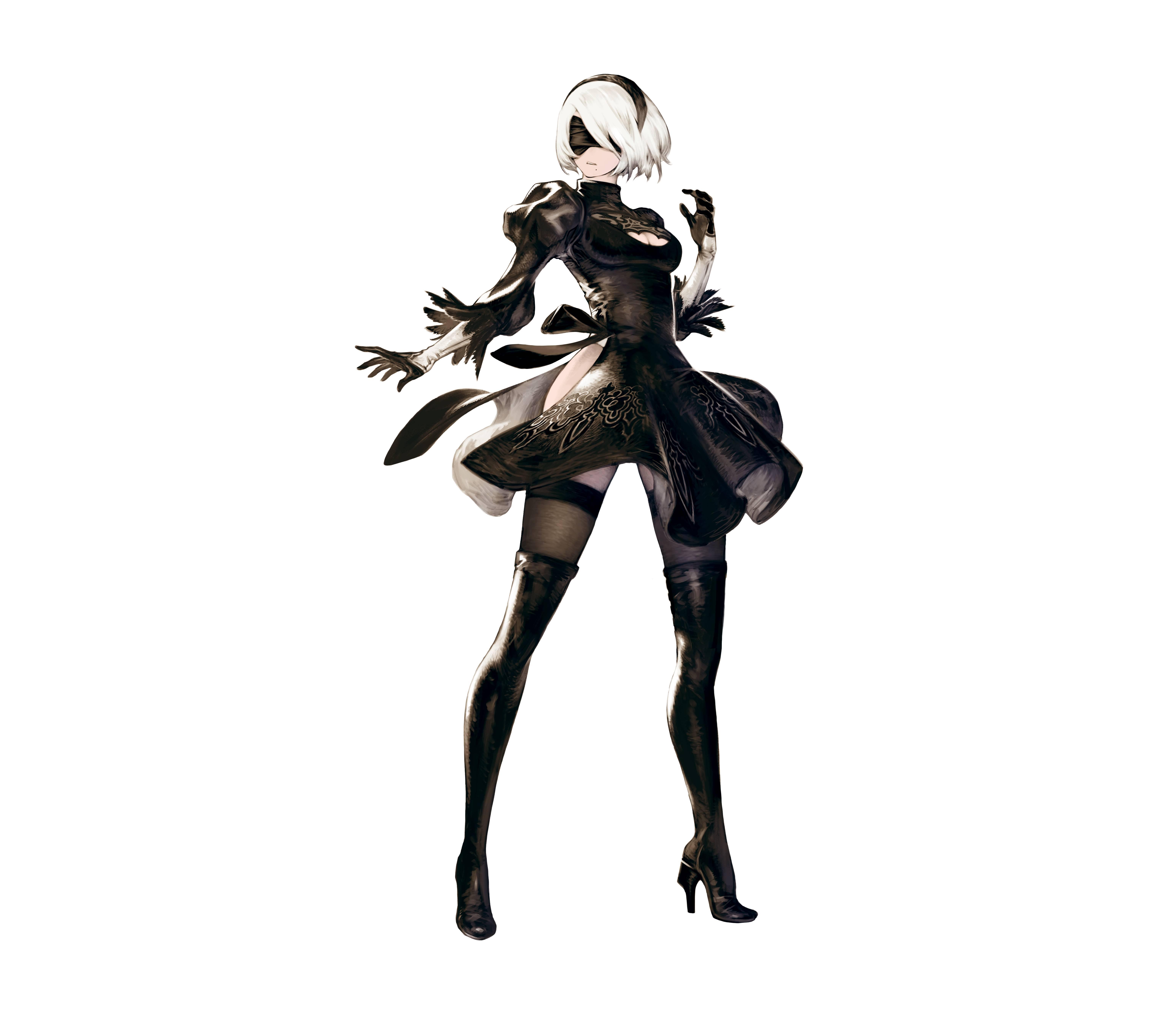 NieR: Automata v prvním gameplay traileru a screenshoty 115677