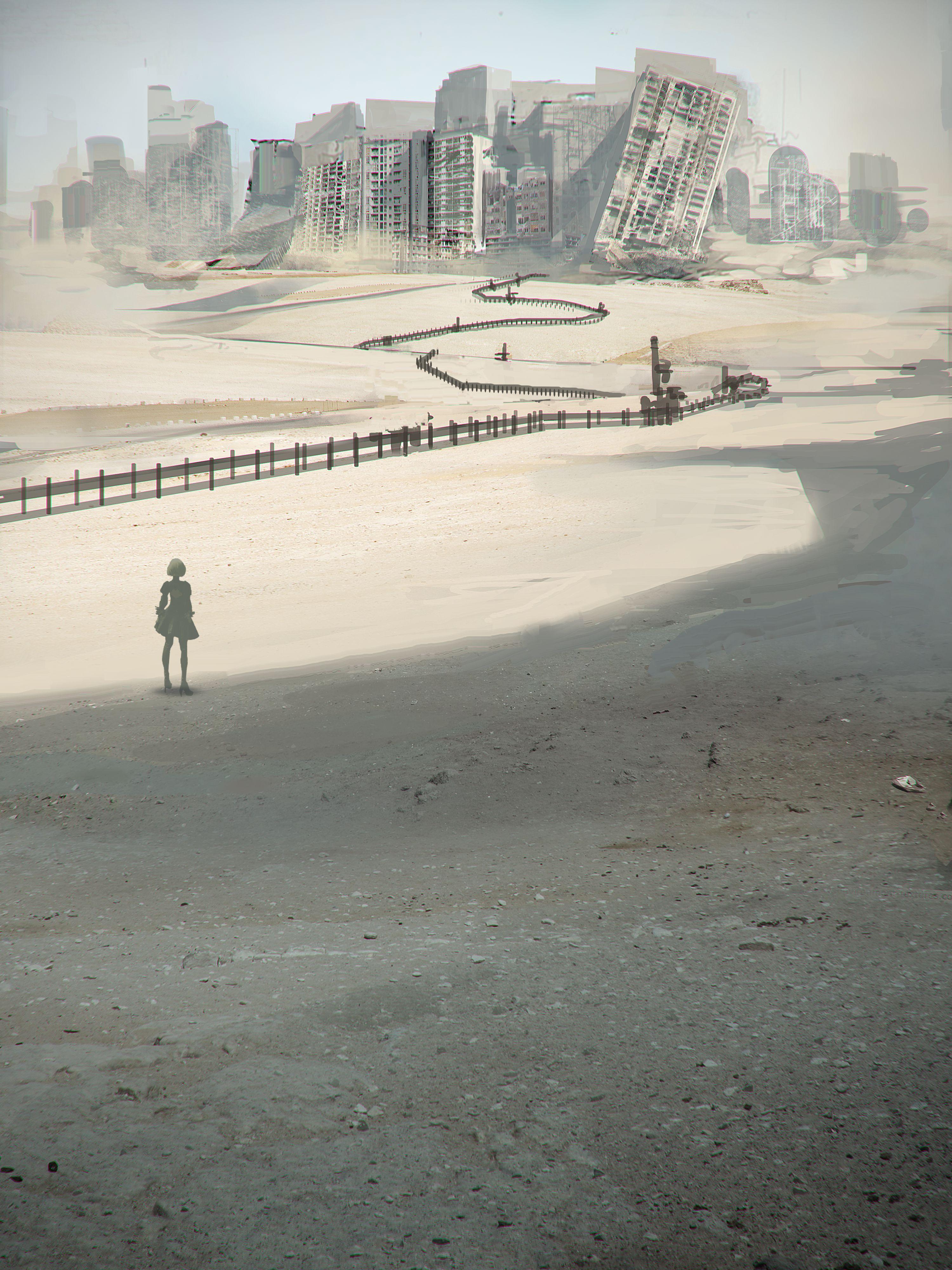 NieR: Automata v prvním gameplay traileru a screenshoty 115679