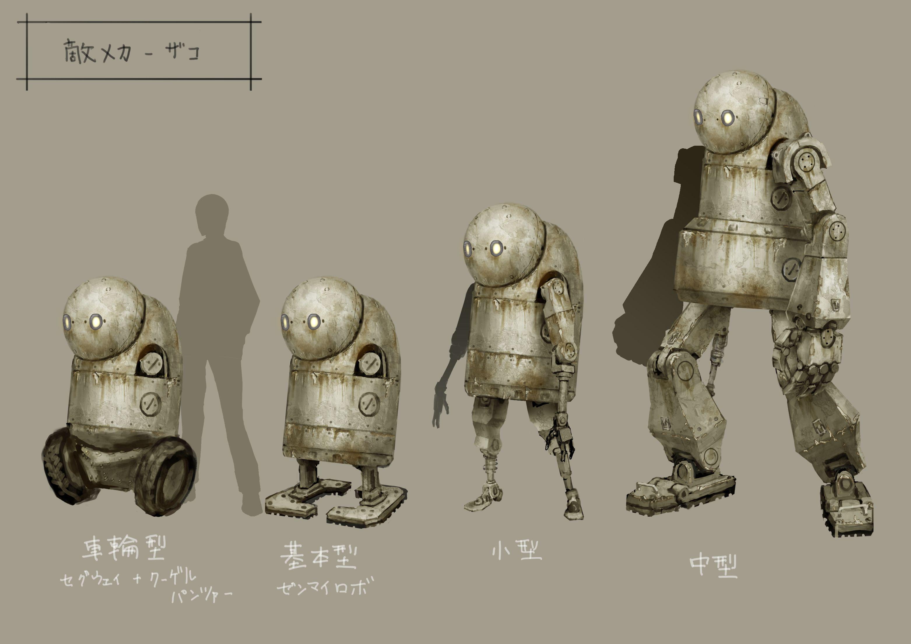 NieR: Automata v prvním gameplay traileru a screenshoty 115682