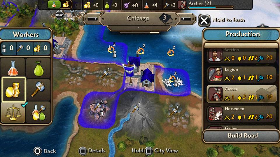 Civilization Revolution 2 oficiálně pro PS Vita 115727