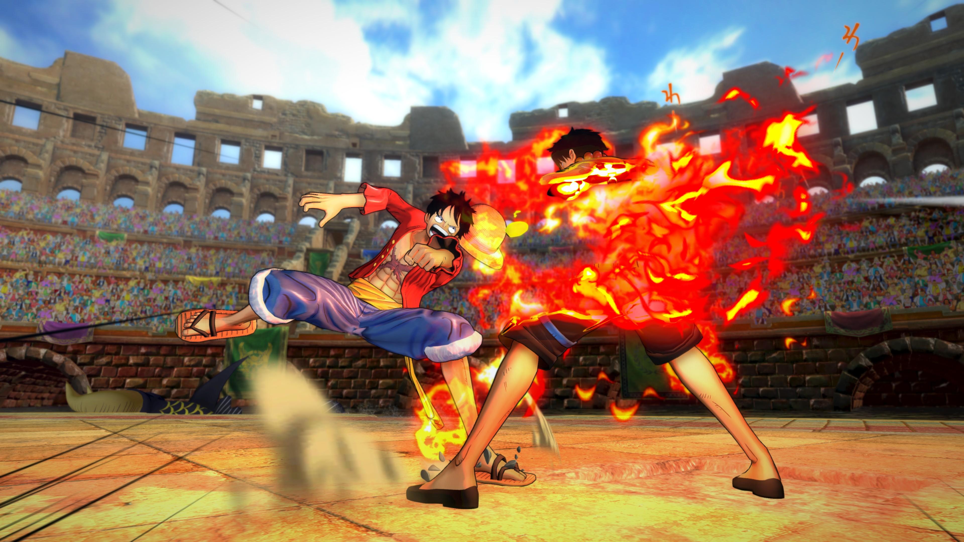 Nové detaily a obrázky z One Piece: Burning Blood 115822