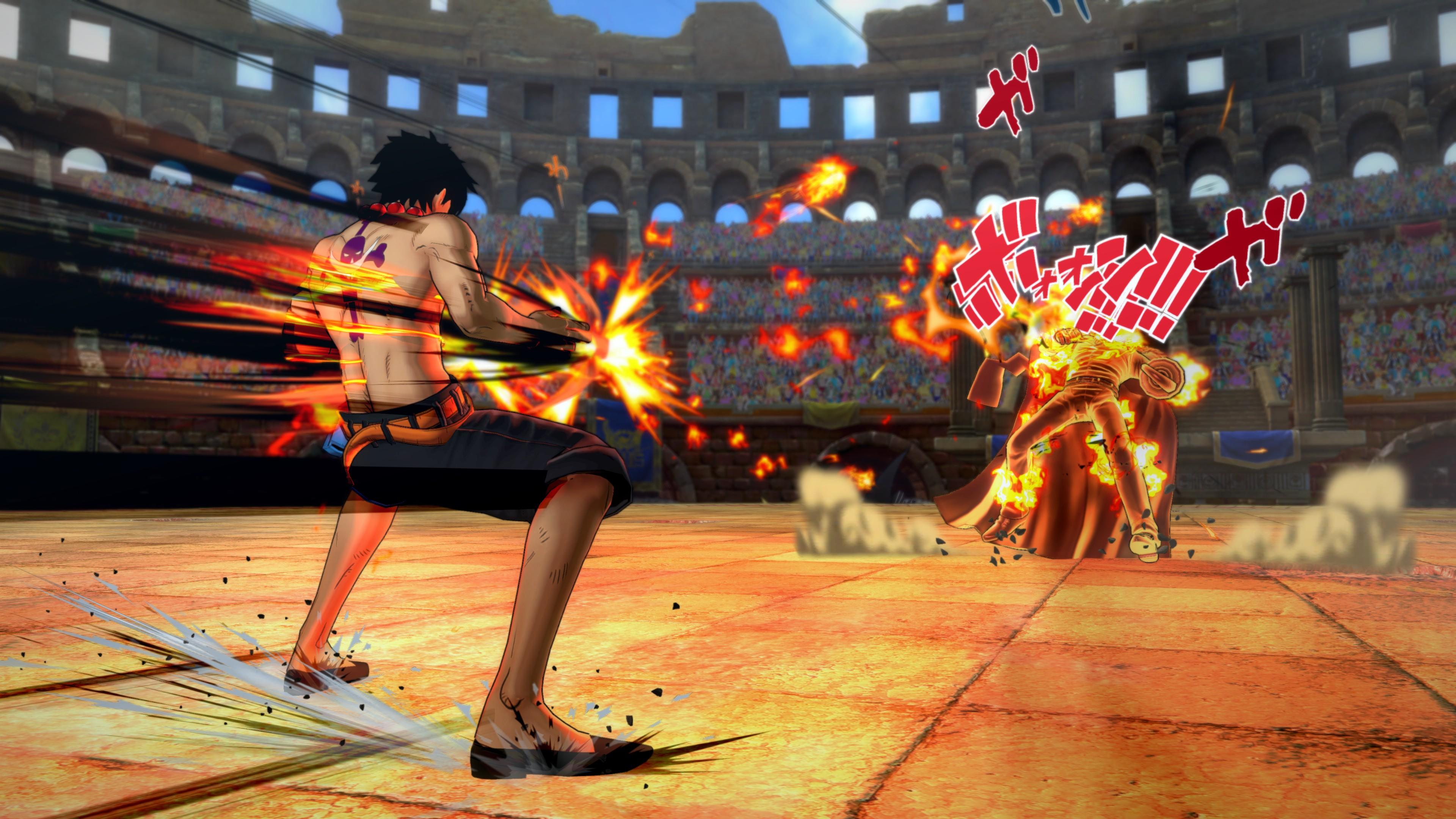 Nové detaily a obrázky z One Piece: Burning Blood 115823