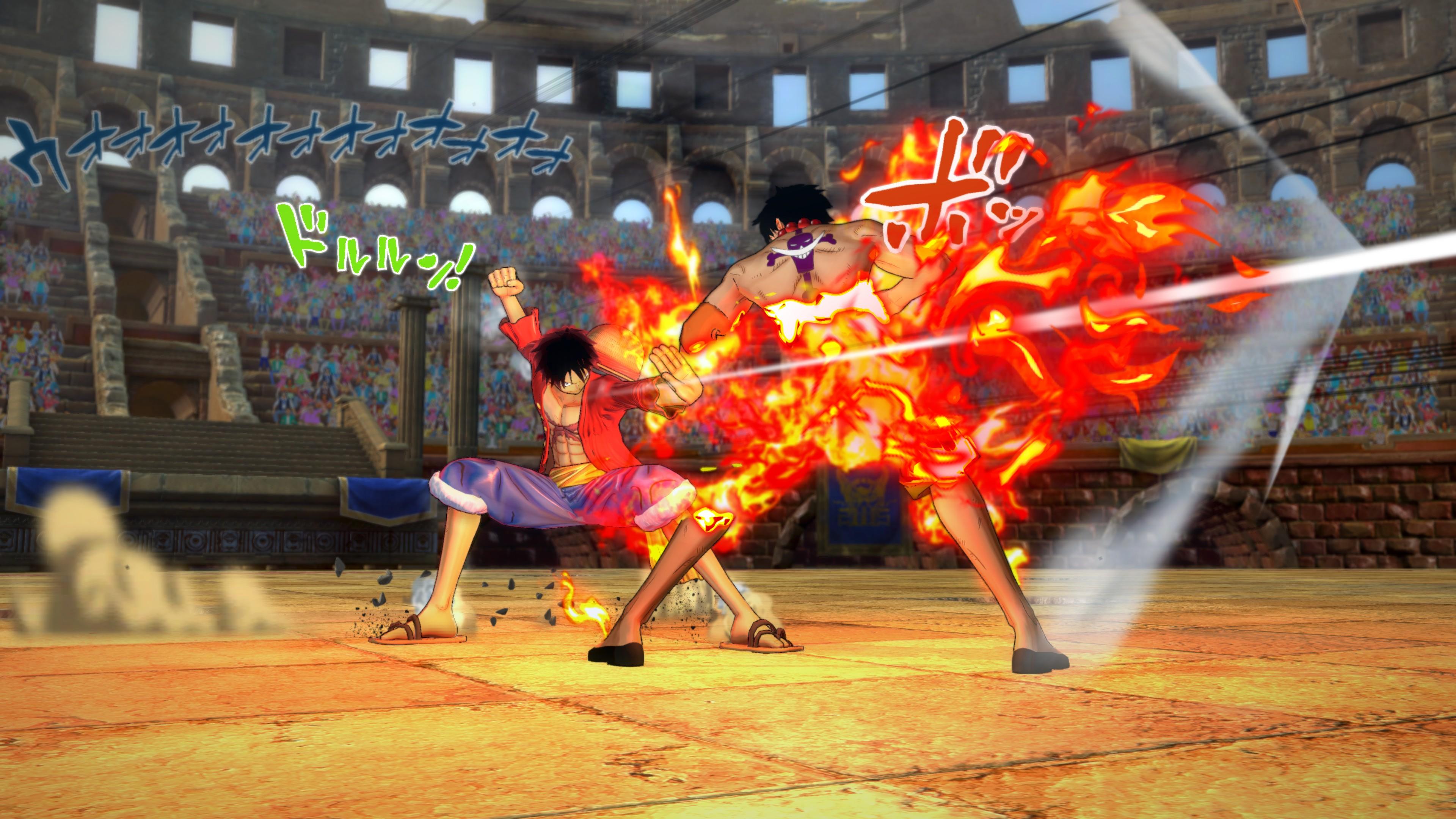 Nové detaily a obrázky z One Piece: Burning Blood 115829