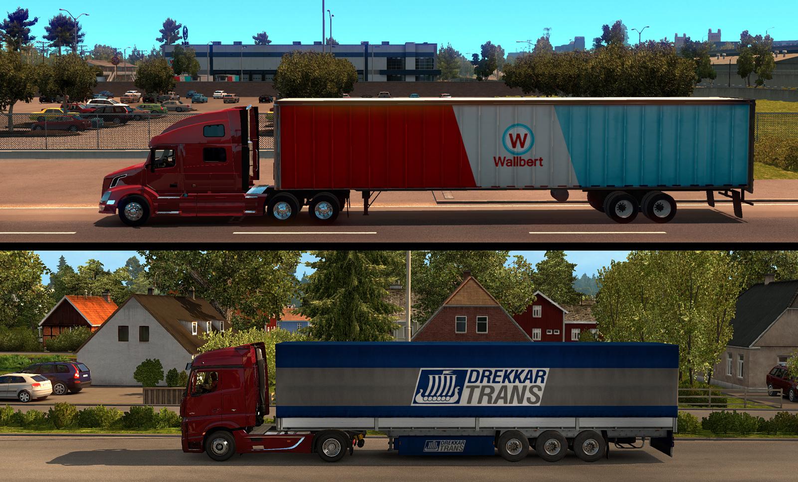 Připravte se na dlouhé návěsy v American Truck Simulatoru 115842