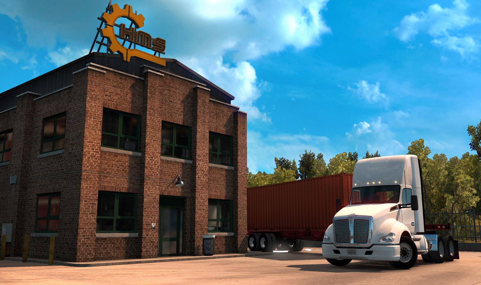 Připravte se na dlouhé návěsy v American Truck Simulatoru 115843