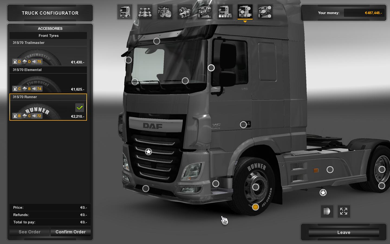 Euro Truck Simulator 2 chystá novinky v pneumatikách 115953