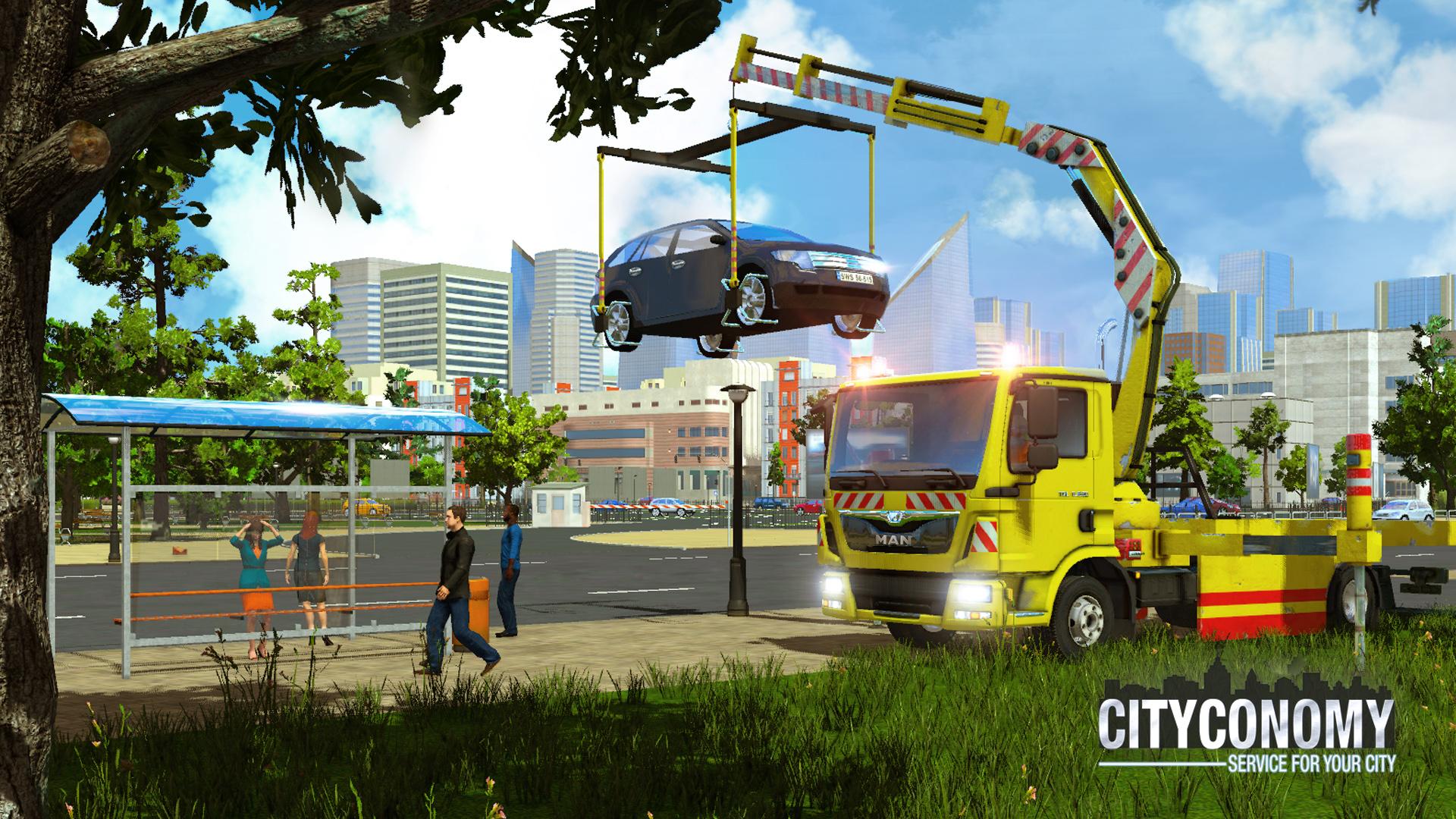 V simulátoru Cityconomy se budete starat o veřejné služby města 116063