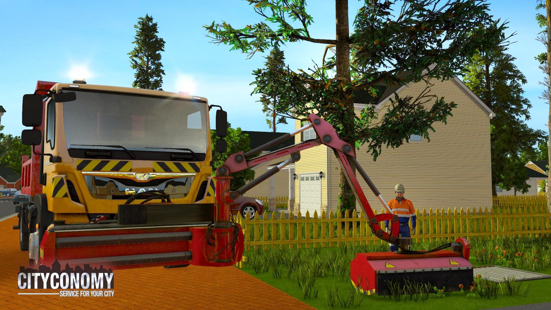 V simulátoru Cityconomy se budete starat o veřejné služby města 116066