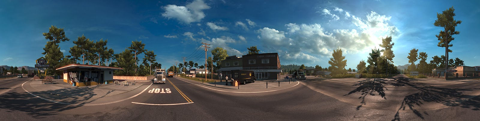 Panorama Kalifornie z American Truck Simulatoru 116425