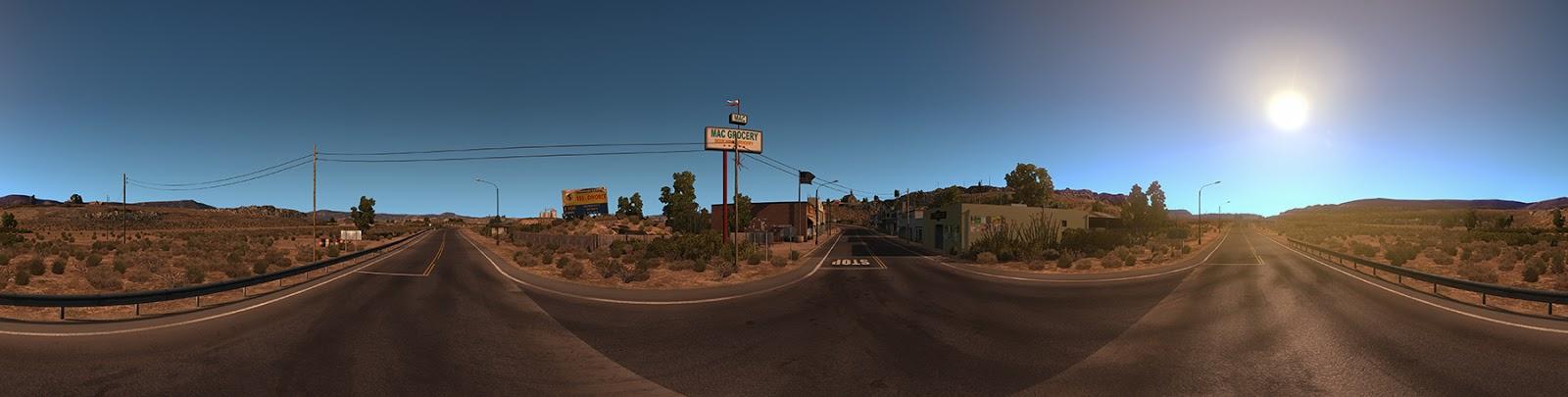 Panorama Kalifornie z American Truck Simulatoru 116426
