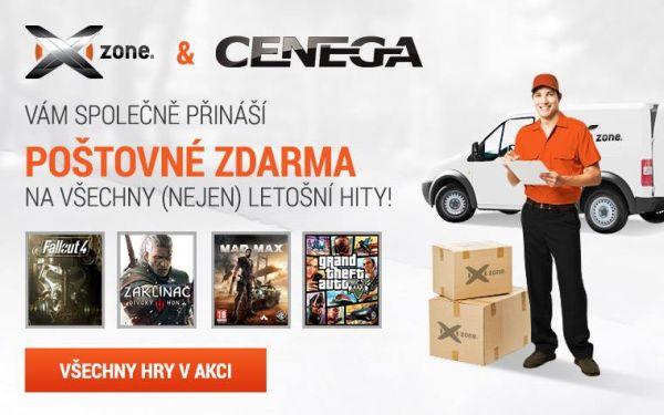 Poštovné zdarma na velké hity tohoto roku na Xzone.cz! 116466
