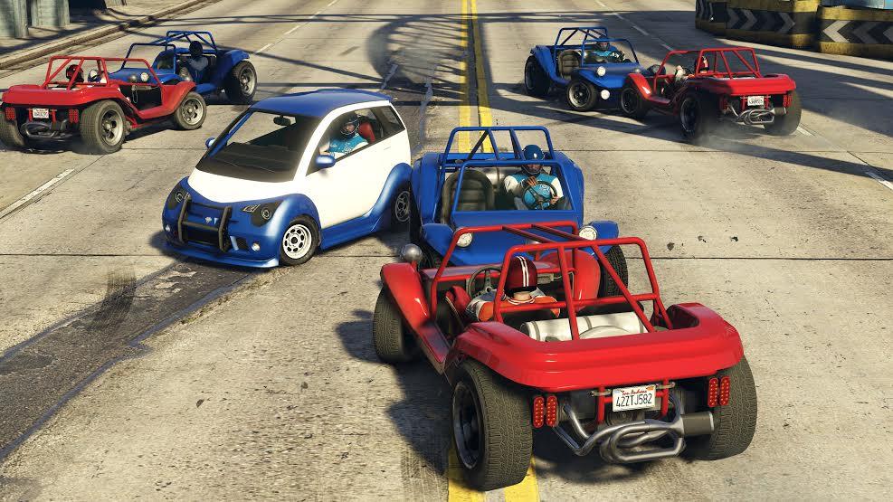 V GTA Online si můžete zahrát americký fotbal s auty 116623