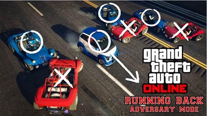 V GTA Online si můžete zahrát americký fotbal s auty 116624