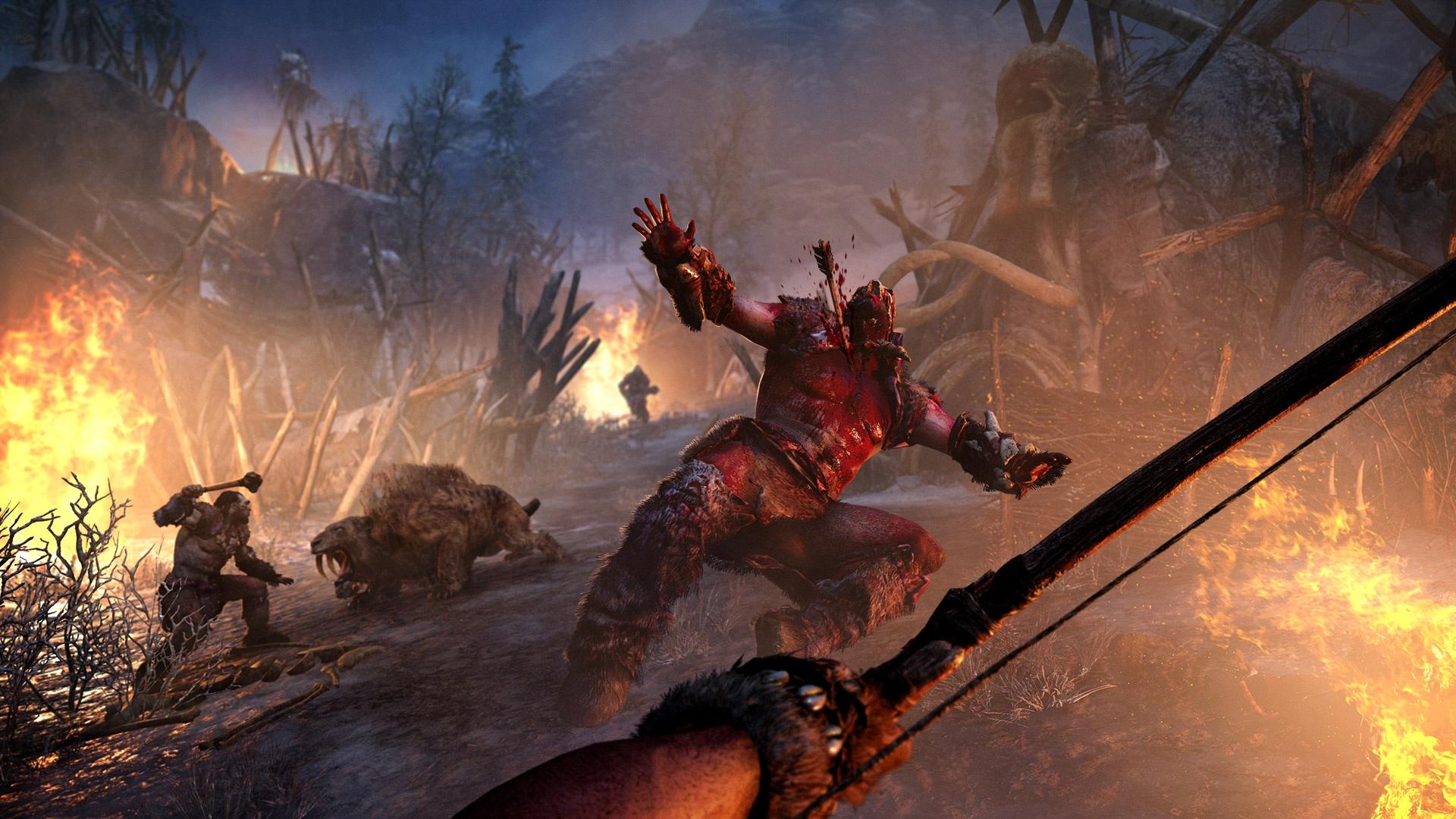 Far Cry Primal v prvním gameplay traileru 116895