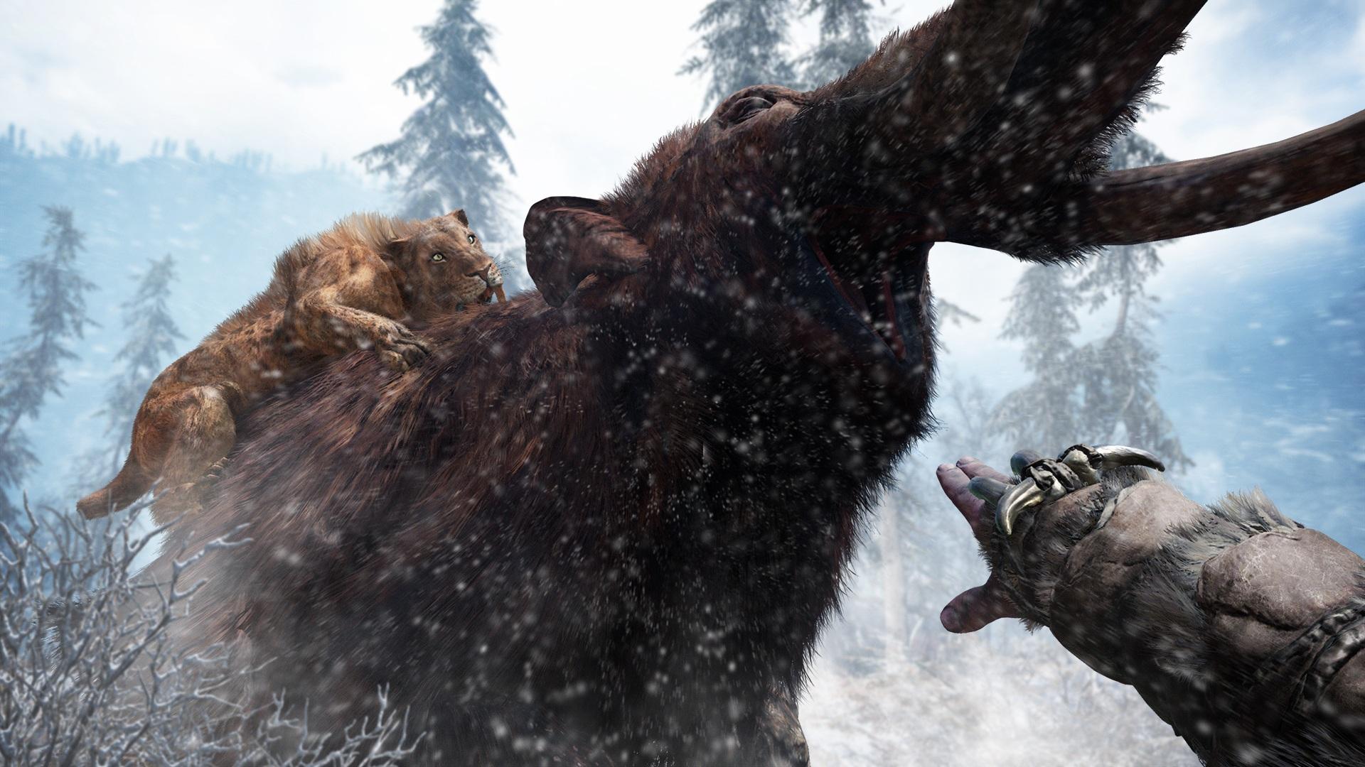 Far Cry Primal v prvním gameplay traileru 116897