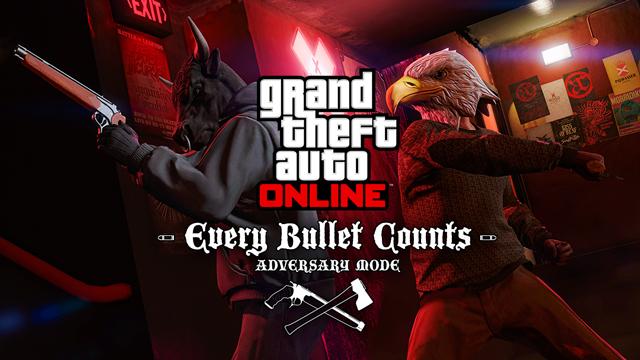 V novém módu do GTA Online se každá kulka počítá 117154