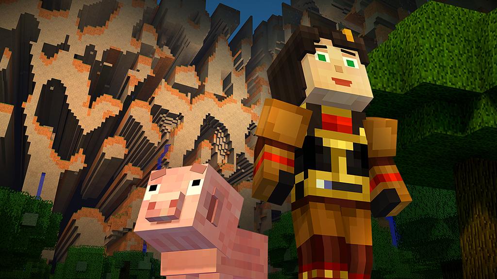 Čtvrtá epizoda Minecraft: Story Modu dorazí před Vánoci 117228