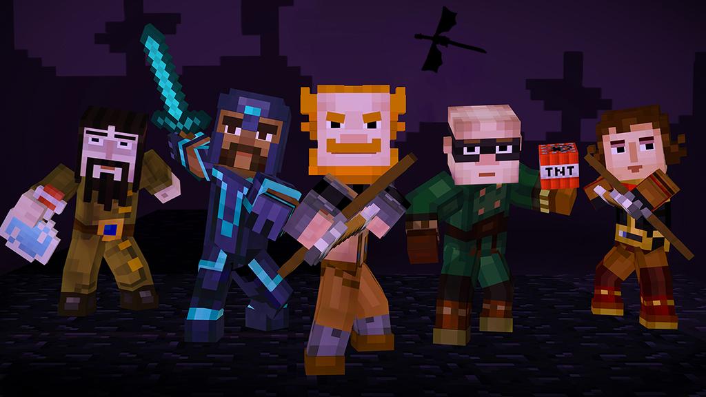 Čtvrtá epizoda Minecraft: Story Modu dorazí před Vánoci 117232