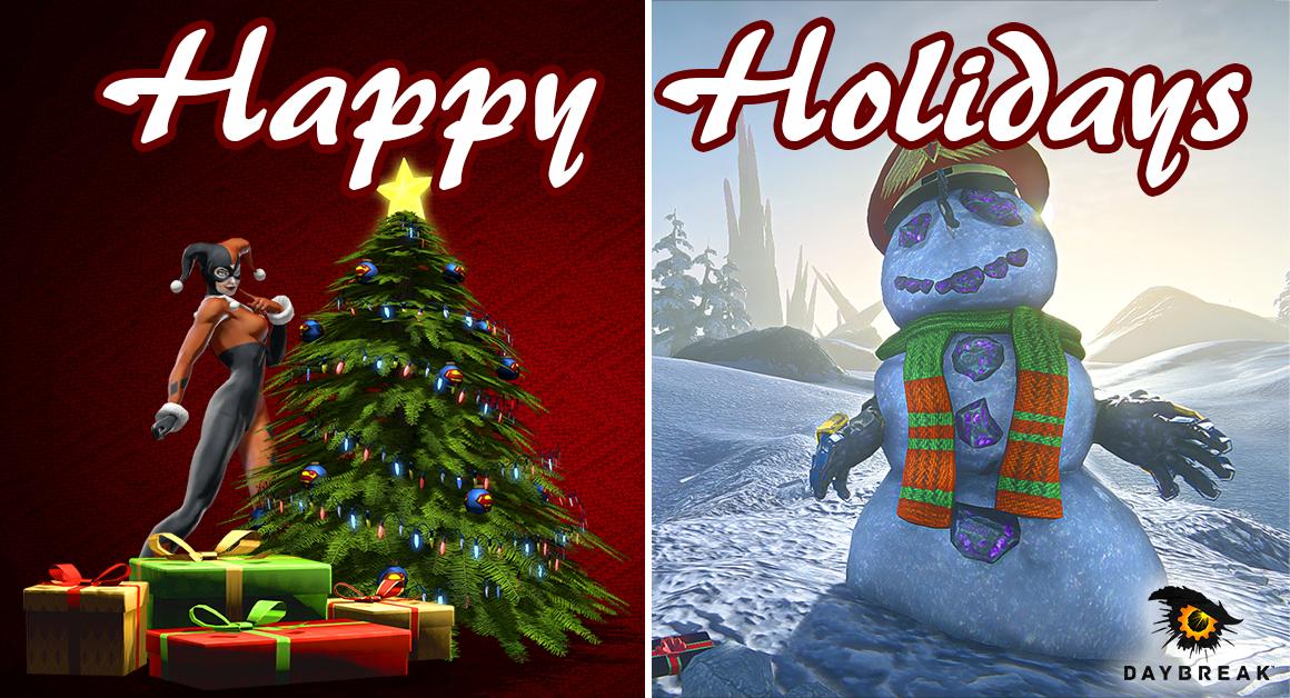 Vánoční přání z herního světa 117552