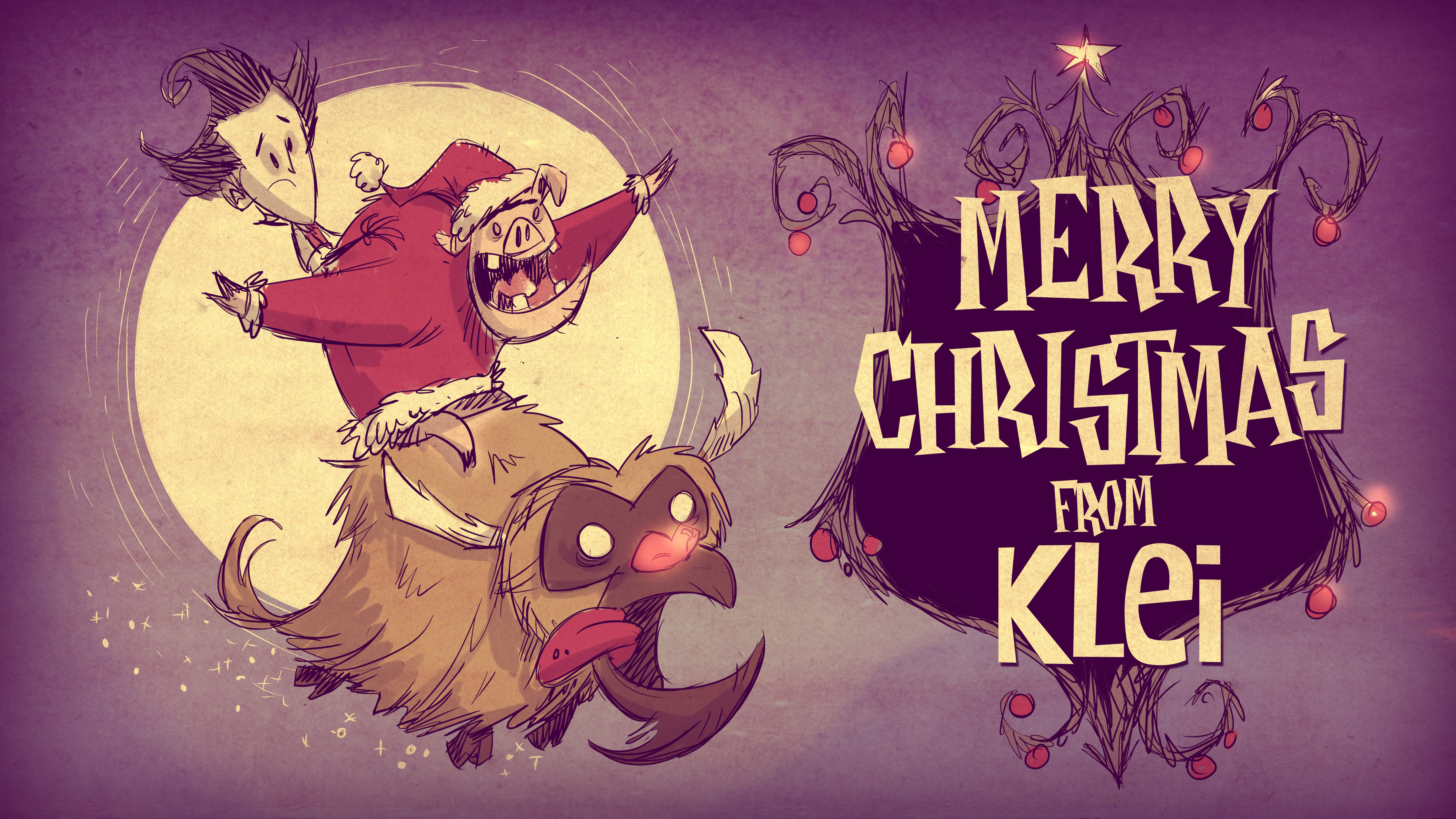 Vánoční přání z herního světa 117554