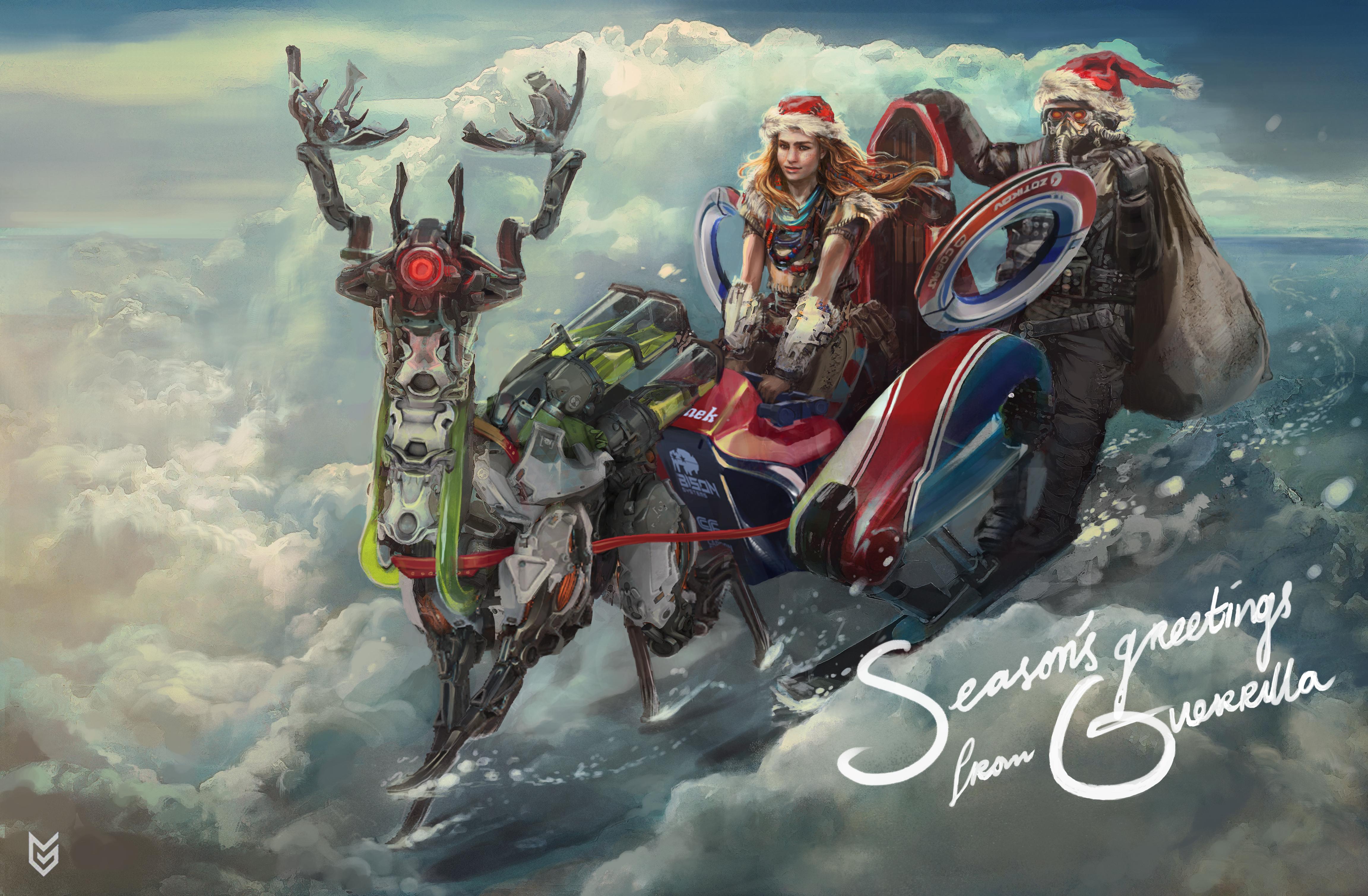Vánoční přání z herního světa 117559