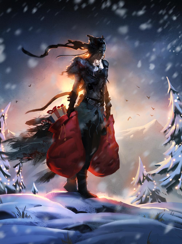 Vánoční přání z herního světa 117561