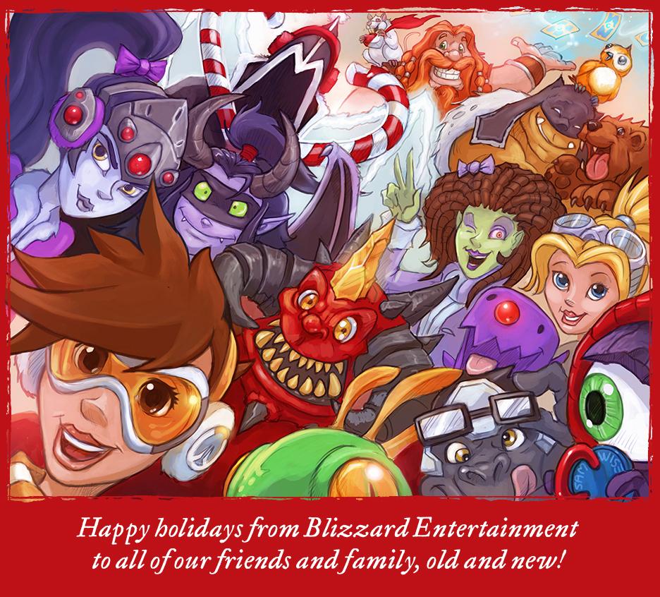 Vánoční přání z herního světa 117562