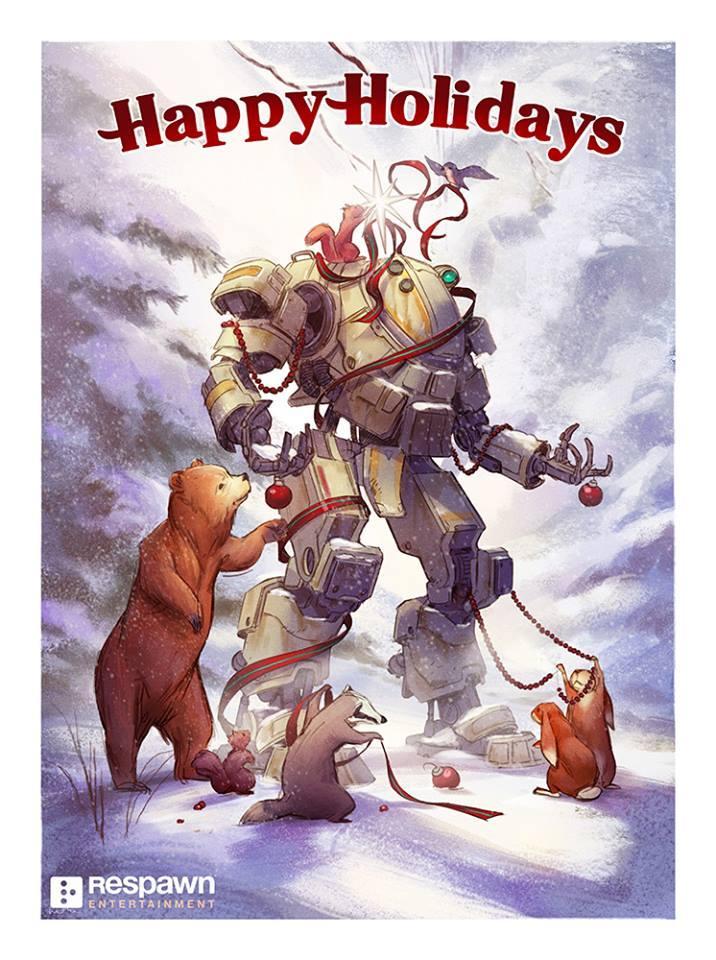 Vánoční přání z herního světa 117567